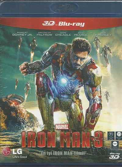 Iron Man 3 (3D BLU-RAY)