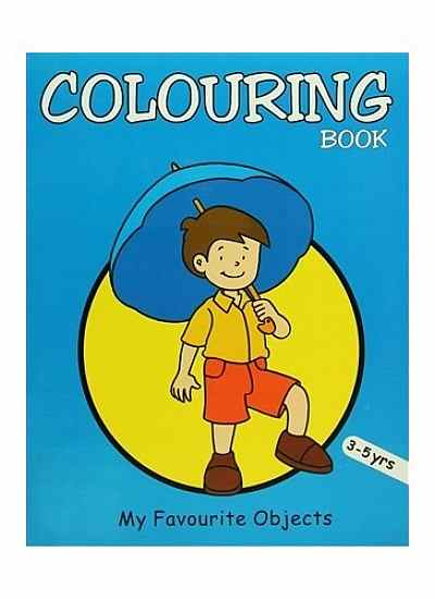 Colouring Book (Blue)